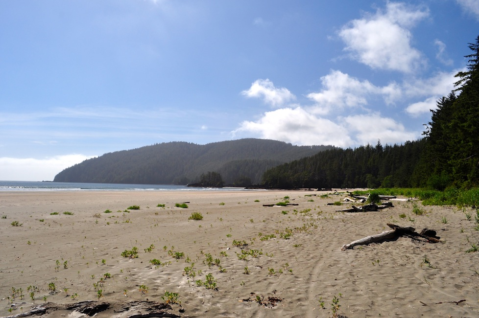 Yes this is Canada and not a tropical island - Cape Scott