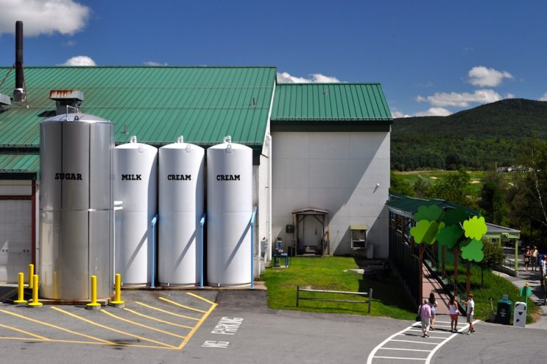 Ben and Jerrys Factory Vermont