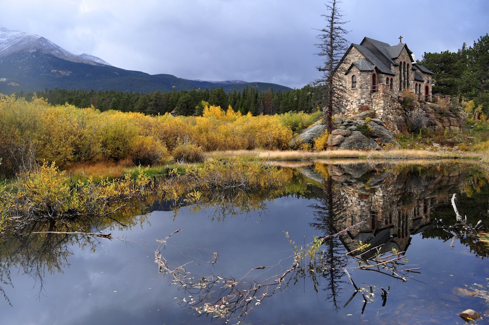The stunning Church at Castle Rock