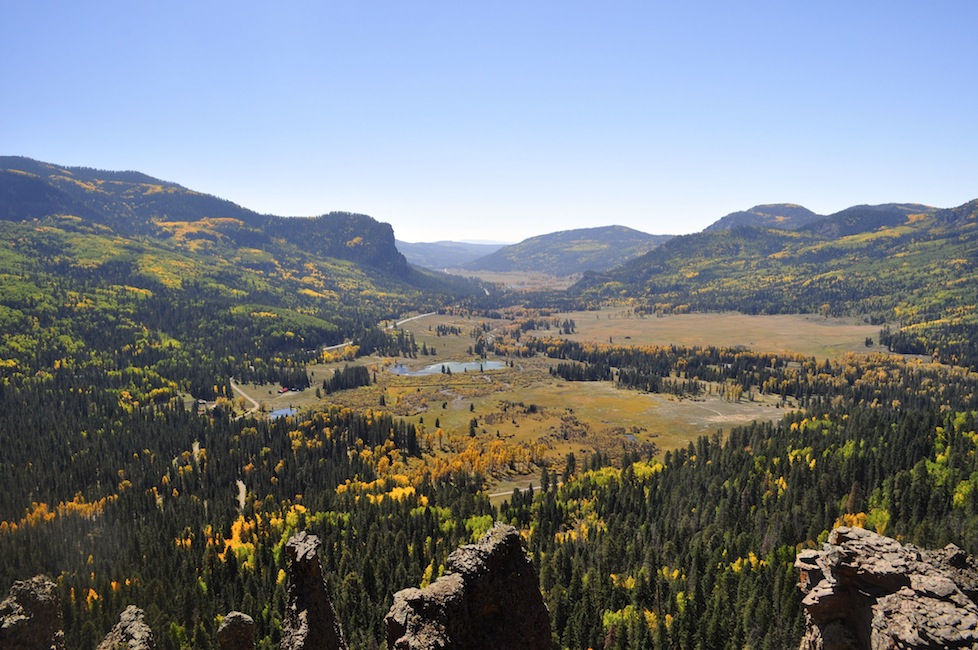 Stunning valley just outside Pagosa Springs