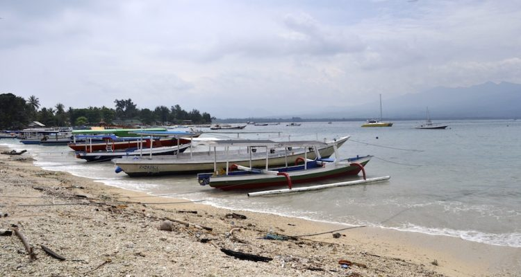 The metropolis that is Gili Air Harbour