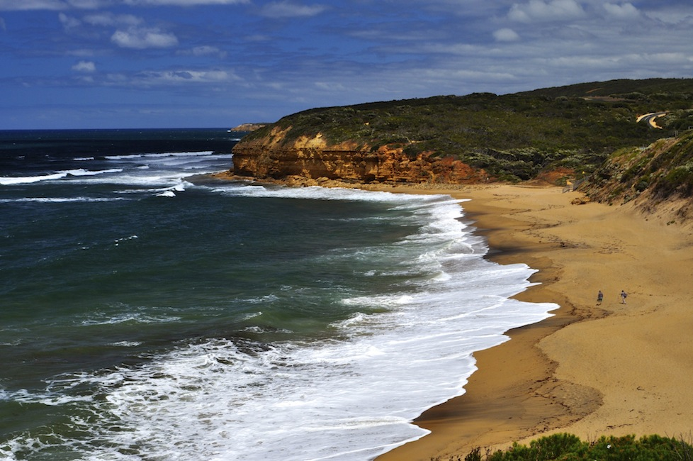 Bells Beach - the location for the final scene in Point Break