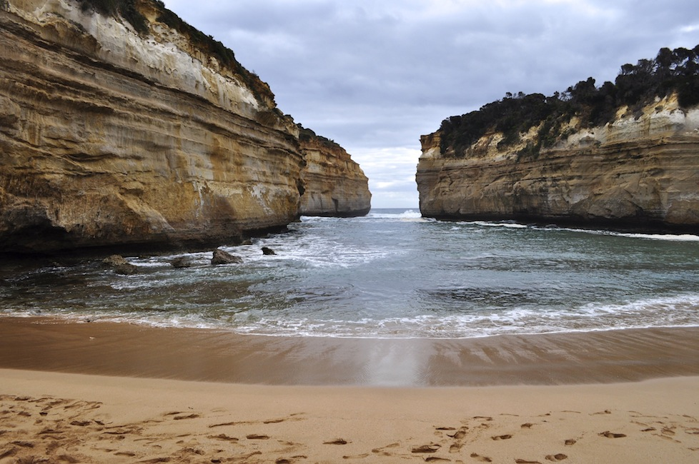 My favourite area on the Great Ocean Road - Loch Ard Gorge