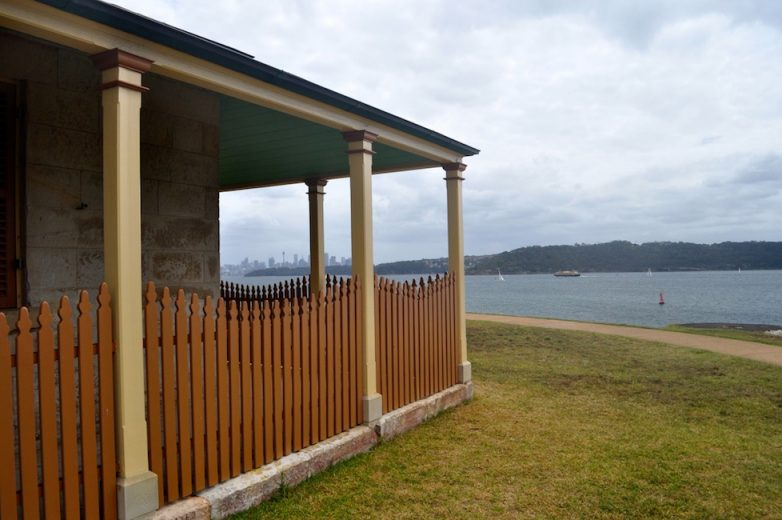 Lighthouse keeper's cottage South Head Sydney