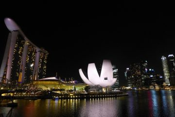 Marina Bay and the ArtScience Museum