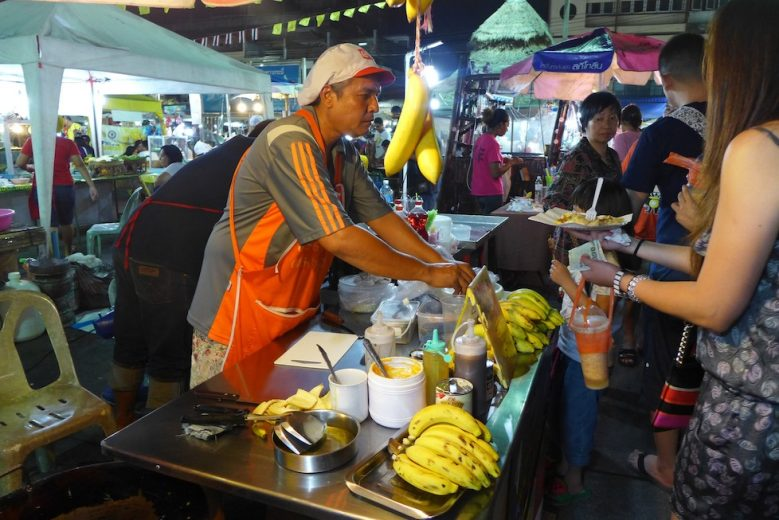 Roti stall Krabi Weekend Night Market