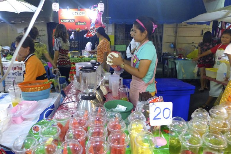 Shake stall Krabi Weekend Night Market