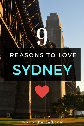 I love Sydney, I mean I really fell head over heels for it. It's hard to narrow it down but I've listed by top 9 reasons why you need to visit.