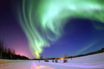 Does it get any better than this? The beautiful Aurora Borealis