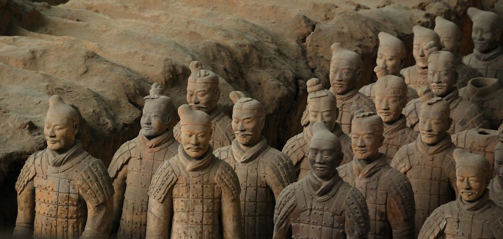 The Terracotta Warriors, China