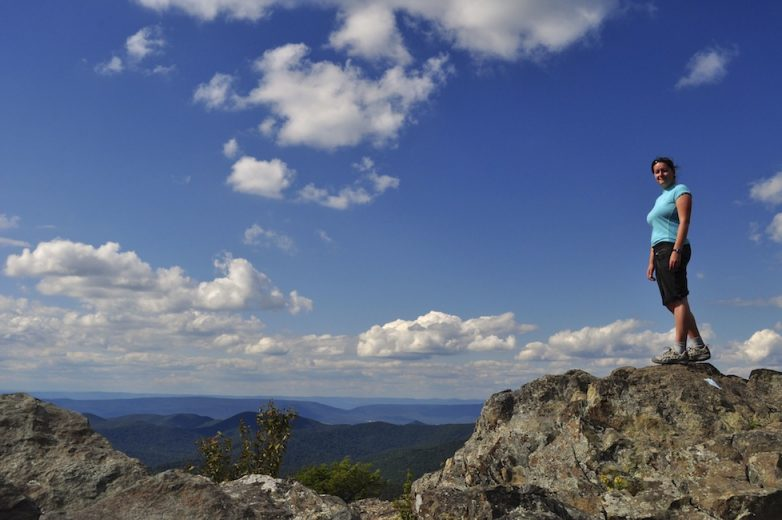 Maddie Deaton Rock climbing in Virginia, United States