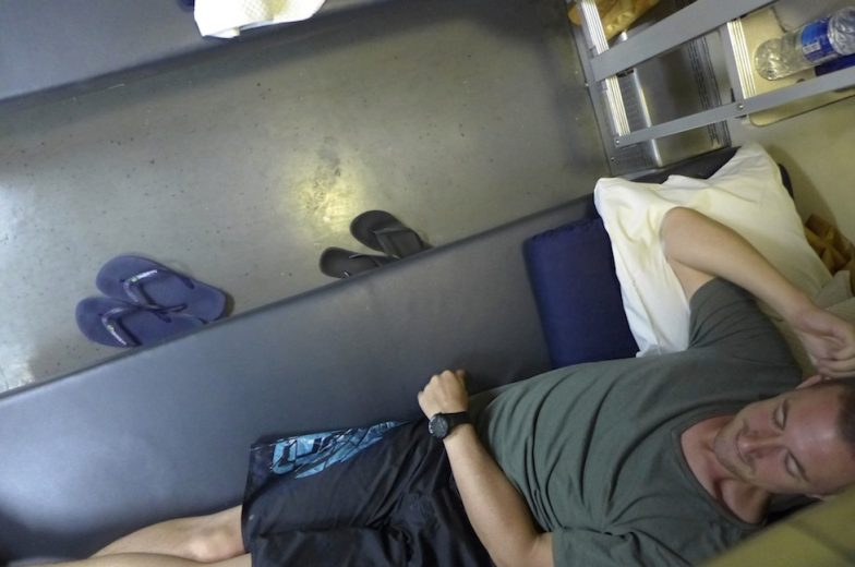 Sleeper Train Thailand