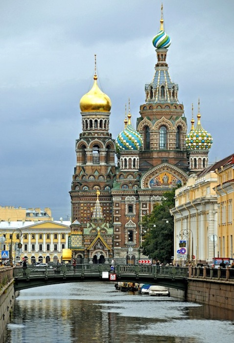 Church on Spilt Blood, St Petersburg