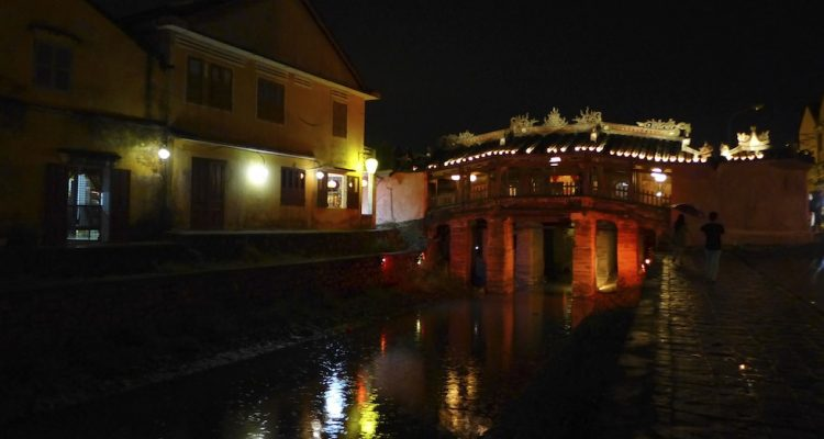 15th Century Japanese covered bridge in Hoi An