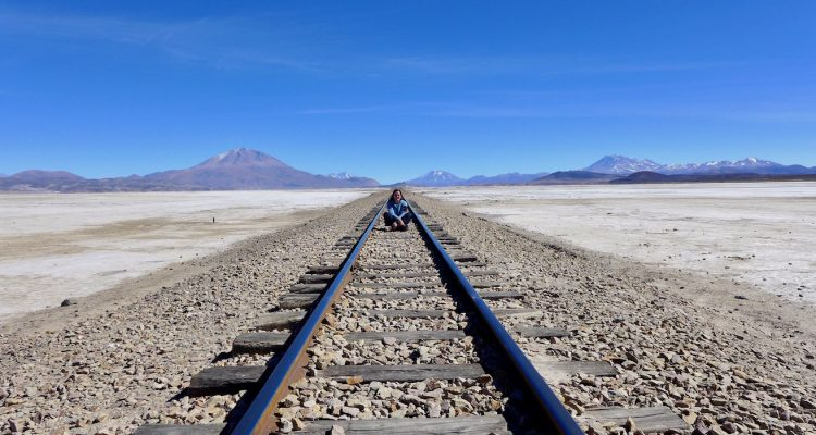 Maddie Deaton Bolivia Train Tracks
