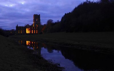 Fountains Abbey Night