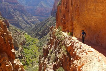 Grand Canyon rim to rim hike North Kaibab Trail Paul Deaton