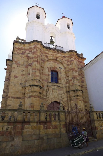 One of the lovely churches in Sucre