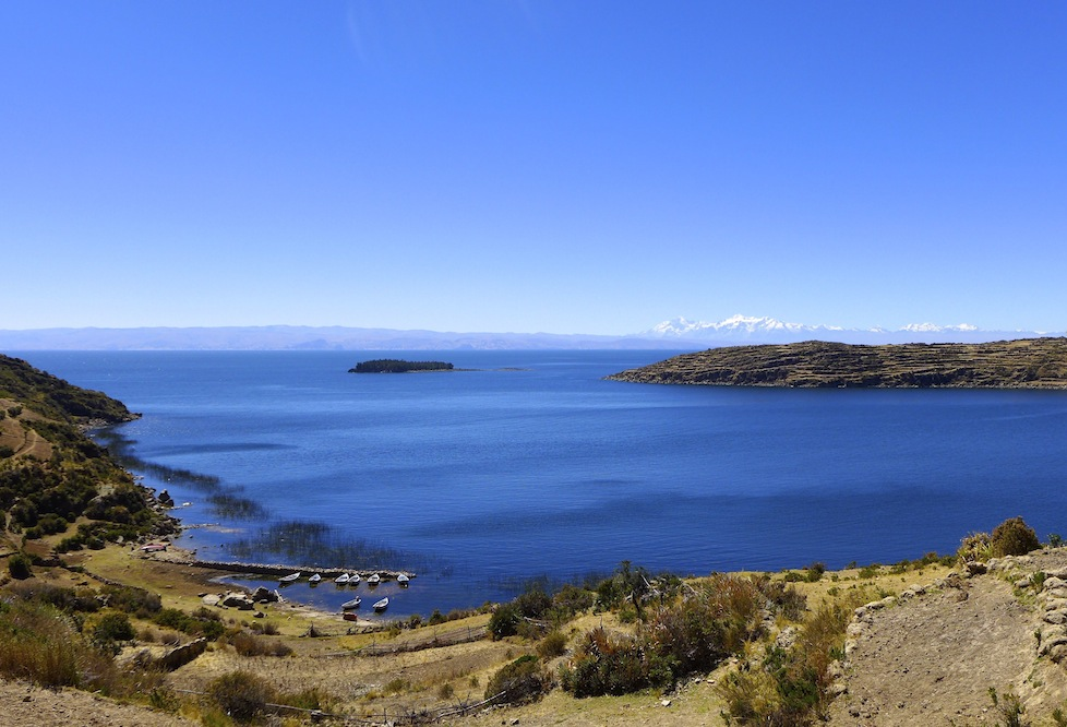 The impossible blue waters of Lake Titicaca