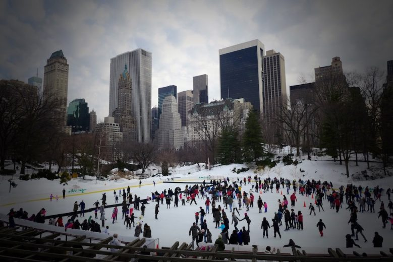 The Wollman Rink Central Park