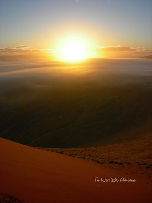 Namibia sunrise