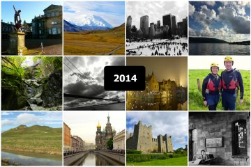 2014 photo collage