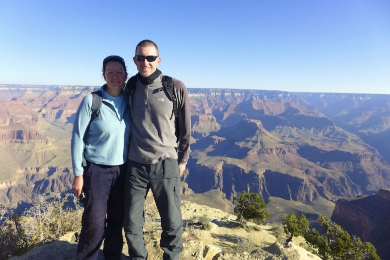 Maddie and Paul Grand Canyon - Two for the Road