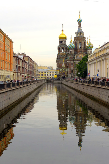 Church of the Spilled Blood - St Petersburg, Russia