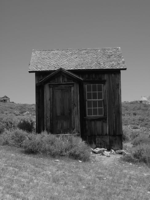 Bodie house ghost town California