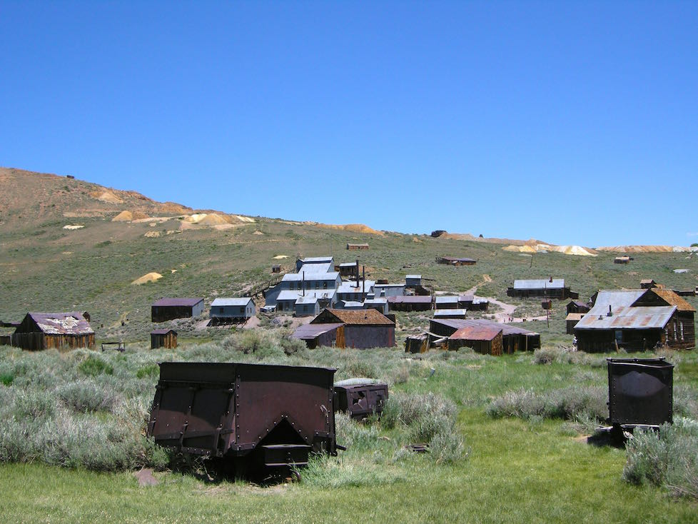 Bodie town California ghost town