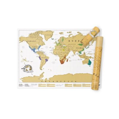 Stratch Map of the World