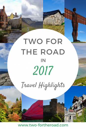 Two for the Road in 2017 - The highlight reel of our travel adventures for the year.